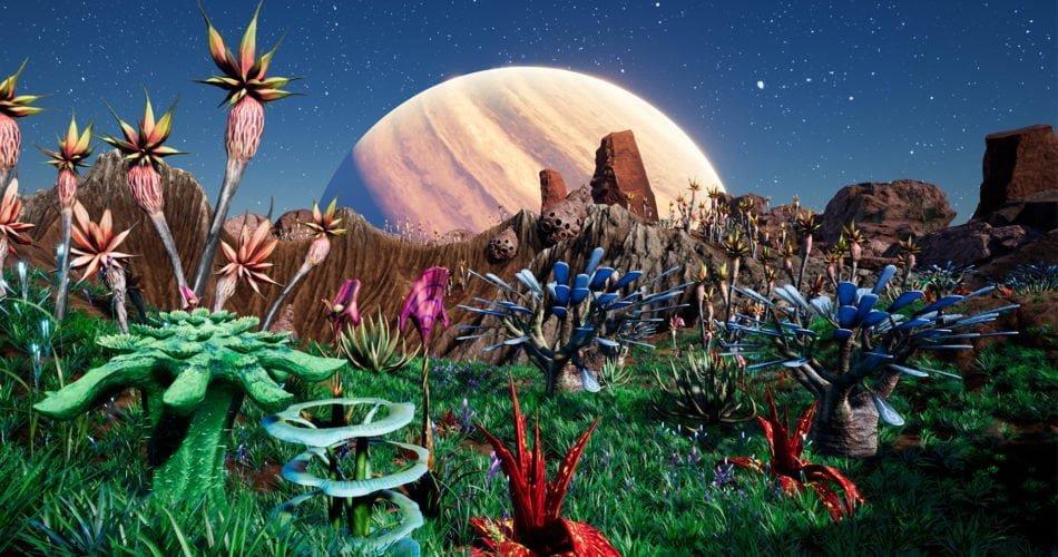 Unity Asset Alien Plants Vol.2 - Desert Oasis free download
