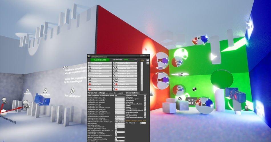 Unity Asset RTX RayTracingTweaker free download