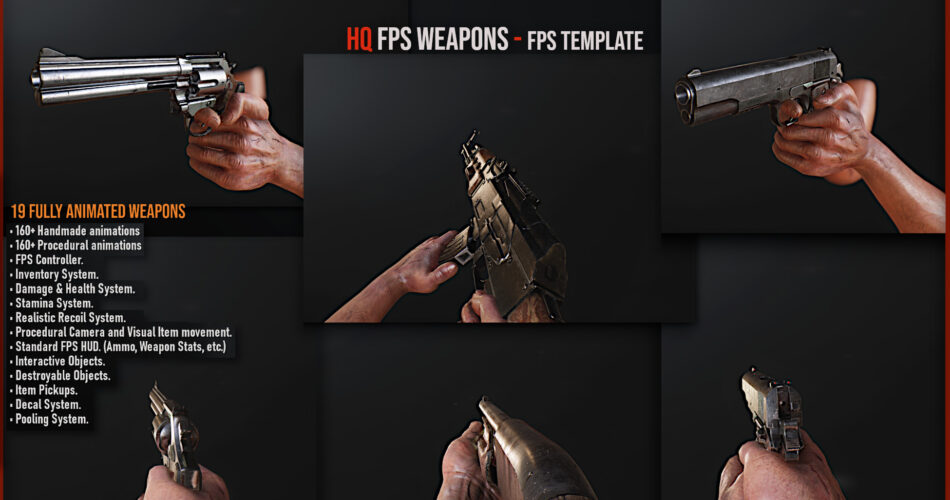 HQ FPS Template