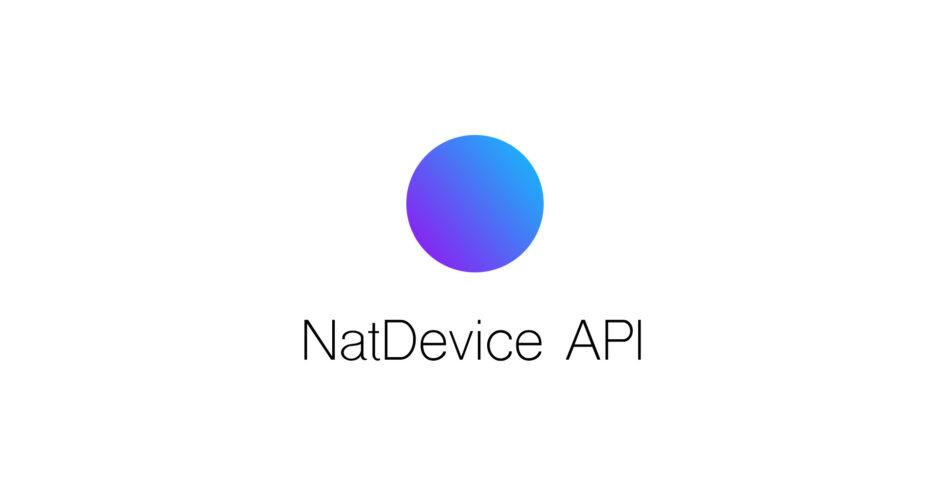 NatDevice - Media Device API