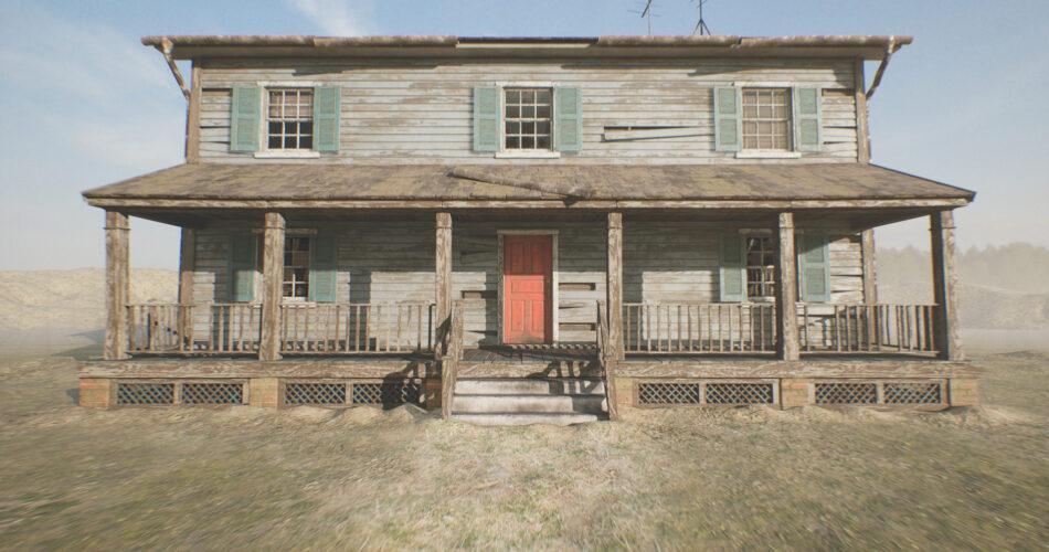 HQ Retro Farmhouse (Modular)
