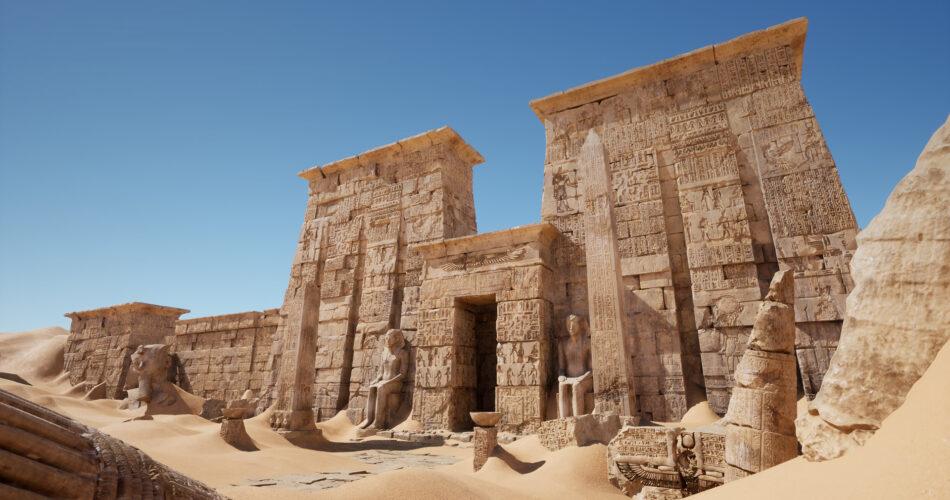 Egypt Ruins Environment
