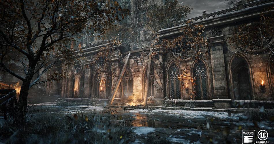Gothic Mega Pack by Meshingun Studio