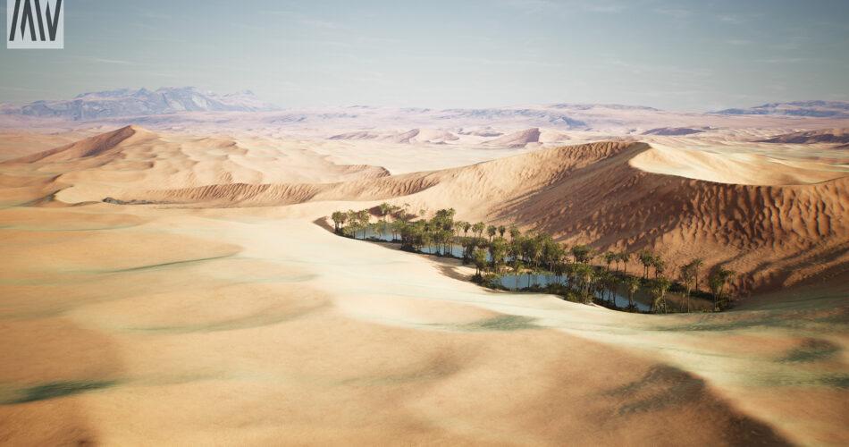 Dune Desert Landscape
