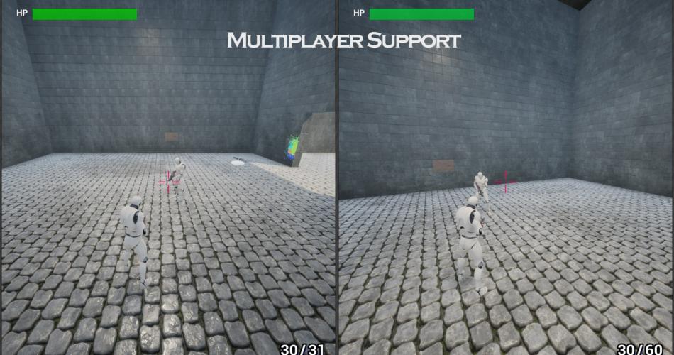 TPS Multiplayer Pack