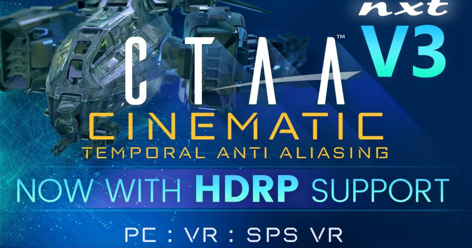 CTAA V3 Cinematic Temporal Anti-Aliasing